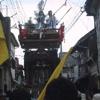 上町区1-初日(汐掻き)「電線捌き」